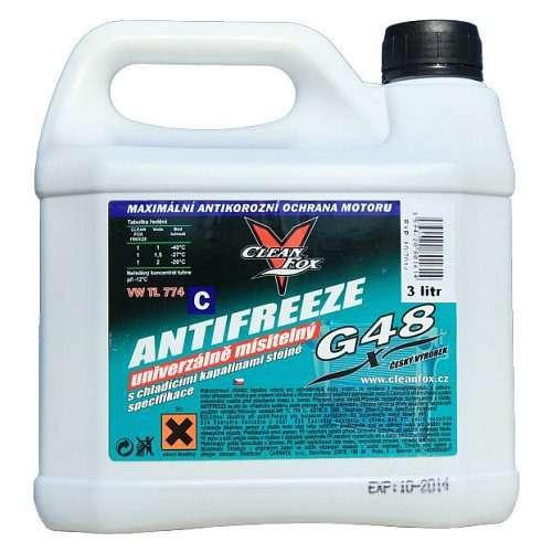 Chladicí kapalina FRIDEX® Antifreeze G48, 3 litry