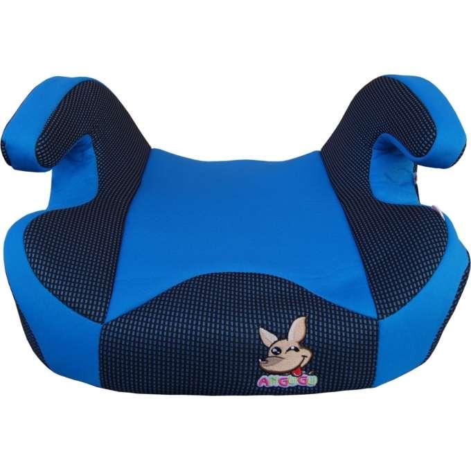 Dětský podsedák do auta, 100% bavlna 15-36kg (cca 3-12let) ANGUGU modrá 1ks