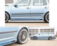 Boční práh pravý Škoda Octavia II (1Z), s prolisem a otvorem