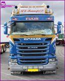 Sluneční clona Laminátová Scania R Streamline 8/2013r => s 5x světly