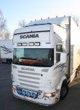 Sluneční clona Scania R => 06/2013r 4-serie, pouze akrylová část