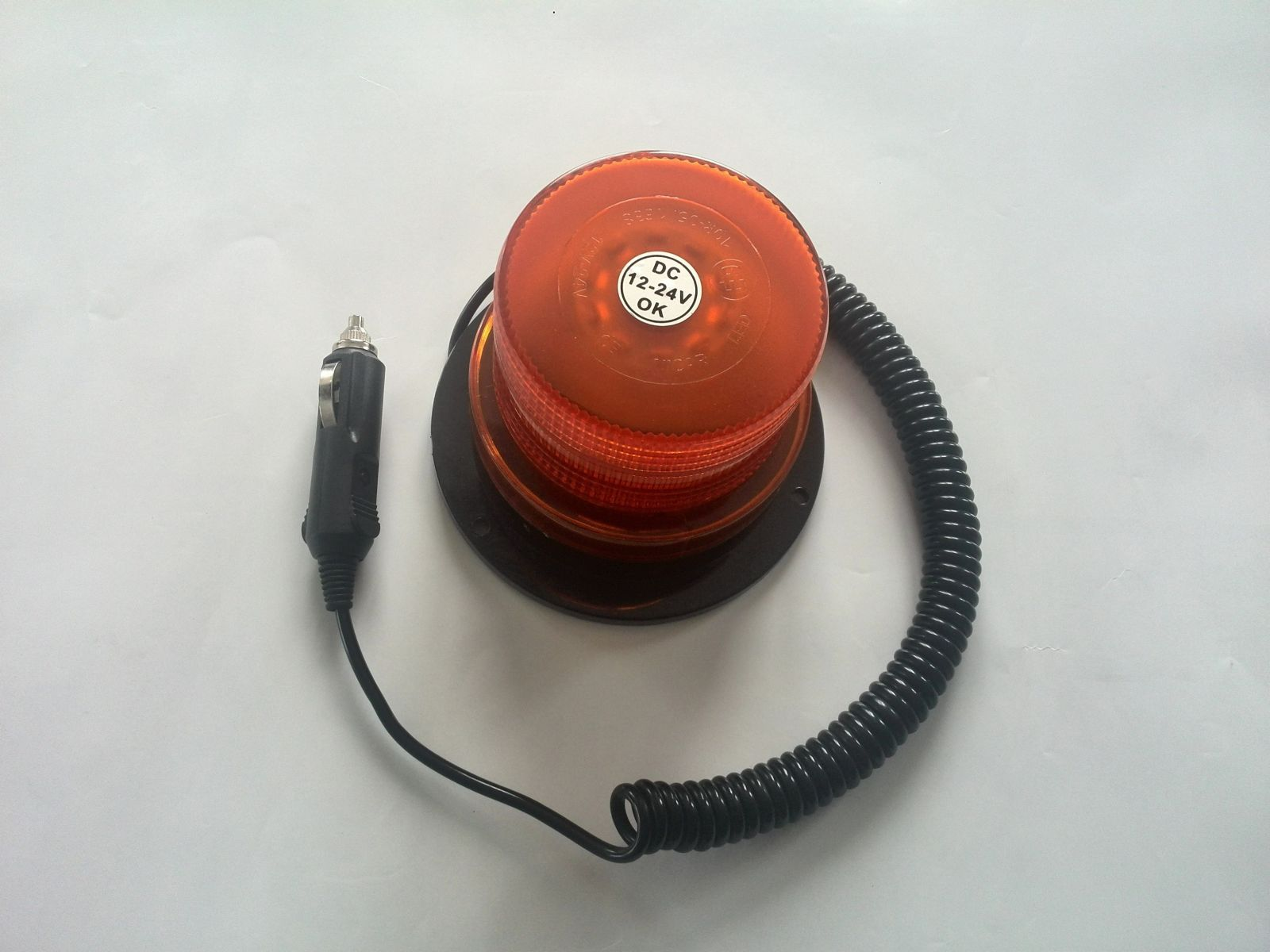 Maják 12/24V oranžový 50x SMD prů.10cm, 5914