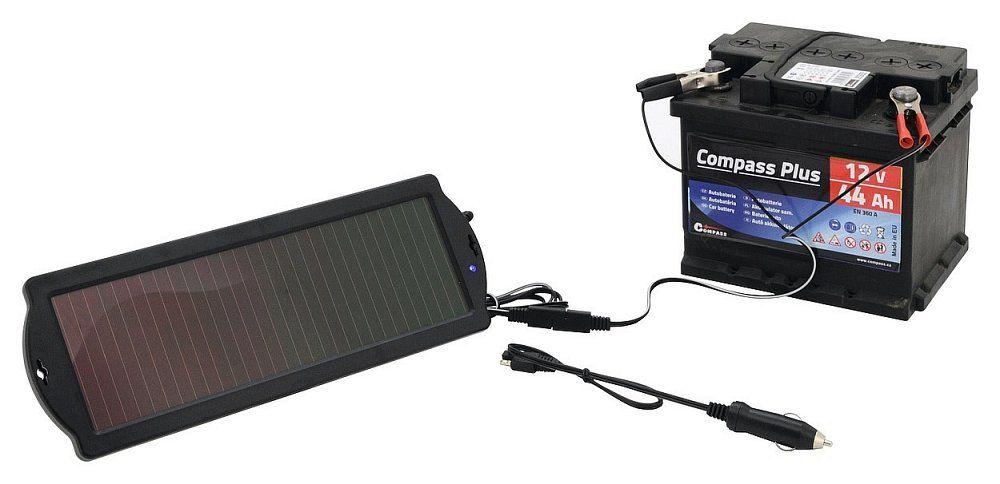 Outdoorová solární nabíječka 1,8W udržovací