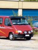 Sluneční clona Ford Transit 1986-1999r, akrylová část+montažní sada