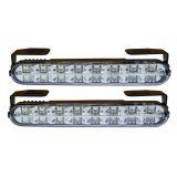 Světla pro denní svícení 2x16 LED, 12V / 24V