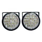 Světla pro denní svícení 2x18 LED, 12V / 24V