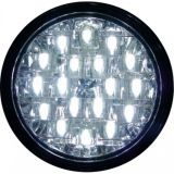 Světla pro denní svícení 2x18 LED, 12V / 24V automatické rozsvícení po zapnutí zapalování 4 car