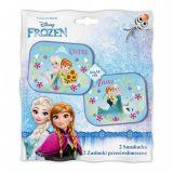 Dětská Stinítka do auta boční Ledové království Frozen, 44 x 35 cm 2ks