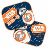 Sluneční clona Star Wars, Hvězdné Války BB-8 2ks, 44 x 35 cm, stínítko