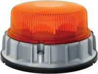 Maják HELLA LED K-LED 2.0 na 3 šrouby 10-32V modrý denní/noční režim