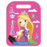 Ochranný potah na zadní stranu sedadla proti okopávání Rapunzel Princezna 45 x 57 cm