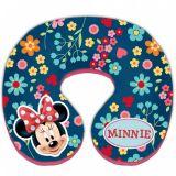 Polštář do auta Minnie Mouse od 3 let, průměr 21 cm
