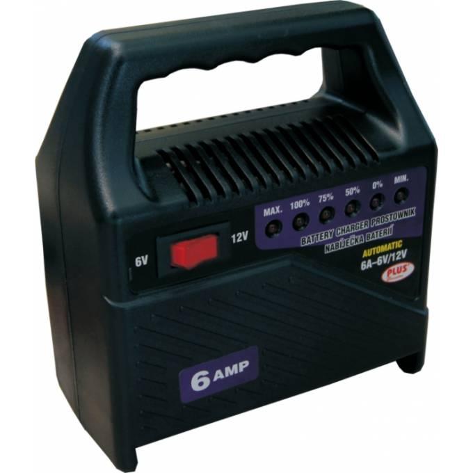 Univerzální nabíječka autobaterie akumulátorů 6V-12V 6A LED indikace