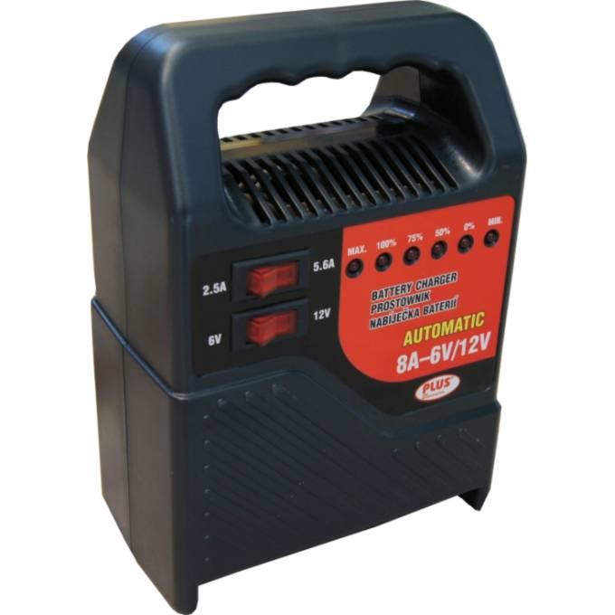 Univerzální nabíječka autobaterie akumulátorů 6V-12V 8A LED indikace