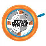 ZVONEK na kolo oranžový Star wars BB-8