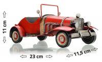 Model auta CABRIO 23 x 11,5 x 11 cm