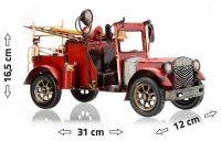 Kovový model hasického auta FIRE TRUCK 31 x 12 x 16,5 cm Compass