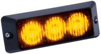 Výstražné LED světlo L55, Oranžová, 12/24V