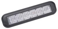 Výstražné LED světlo L66, Oranžová, 12/24V