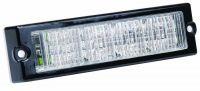 Výstražné LED světlo L72, Oranžová, 12/24V