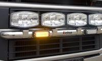Výstražné LED světlo ECCO 3811A oranžové