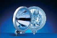 Reflektor HELLA 3000 FF CLEAR BLUE s navigačními světly modrý