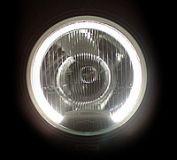 Dálkový světlomet reflektor ENATruck typ SIM Bílý + poziční LED