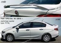 Zadní spoiler křídlo pro FIAT Tipo sedan 10.2015r =>
