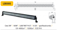 LED panel 180W, 885 mm, reflektor
