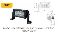 LED panel 24W, 222 mm, reflektor