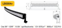 LED panel OBLOUK 120W, 630 mm, reflektor