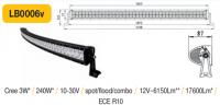 LED panel OBLOUK 240W, 1140 mm, reflektor