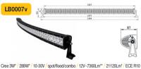 LED panel OBLOUK 288W, 1344 mm, reflektor