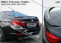 Zadní spoiler křídlo zadní pro BMW 5 (F10) sedan 01.2009r =>