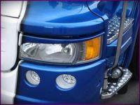 Ozdobné kryty světel Mračítka SCANIA R serie, Streamline
