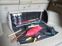 Luxusní taška (Brašna) do kufru černá 44x39x35 cm