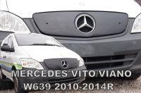 Zimní clona Mercedes Vito, Viano 2010-2014r, horní