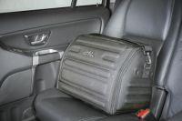 Luxusní taška (Brašna) do kufru šedá 46x30x31 cm