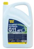 Antifreeze G11 -40 °C Ultra, zelená chladicí kapalina, 5L