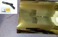 Protisluneční Fólie zlatá GOLD 75x300 cm silver/gold 93%