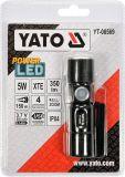 Celokovová LED svítilna XT-E CREE 5W USB, 350 lm, Li-ion světo až do vzdálenosti 150 m Compass