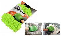 Mycí rukavice MICROFIBER 2v1 KENCO, 27x19x3 cm