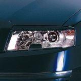 Kryty světlometů Milotec (mračítka) - ABS černý, Škoda Superb