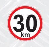 samolepka 30km h