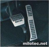 Sportovní pedály Milotec (vozy s automat.převodovkou) - Octavia II, Octavia II Facelift, Superb II,
