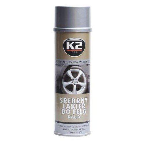 Stříbrná barva na ráfky kol, chrání proti korozi K2 500ml