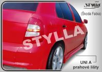 Prahové lišty Tuning - STYLLA UNI typ A 127 - 202 cm