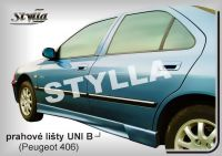 Prahové lišty Tuning - STYLLA UNI typ B 165 - 203 cm, L/P