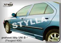 Prahové lišty Tuning - STYLLA UNI typ B 165 - 203 cm