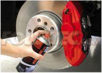 OMP barva červená pro lakování výfukových, motorových nebo brzových systémů 400 ml